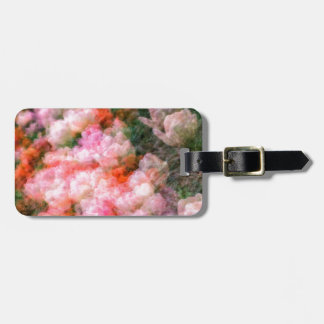Peony Tulips in Full Bloom Luggage Tag