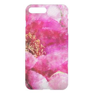 peony watercolor pink iPhone 8 plus/7 plus case