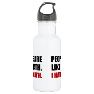 People Are Like Hate Math 532 Ml Water Bottle