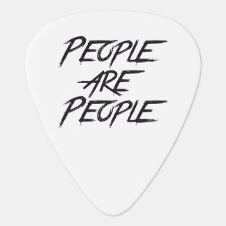 PEOPLE ARE PEOPLE GUITAR PICK