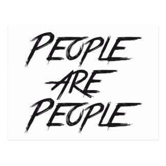 PEOPLE ARE PEOPLE POSTCARD