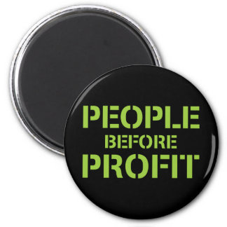 People before Profit Magnet