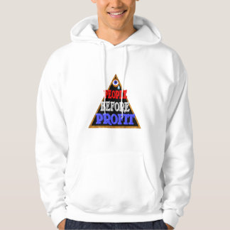 People before profits Occupy wall street protest Hoodie