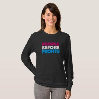 People Before Profits T-shirt