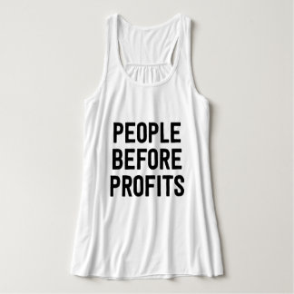 People Before Profits Tank Top