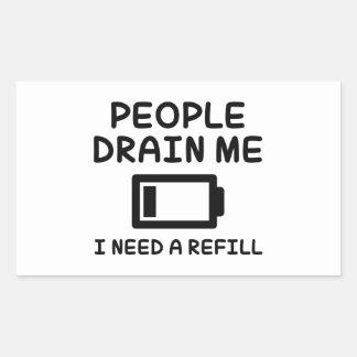 People Drain Me