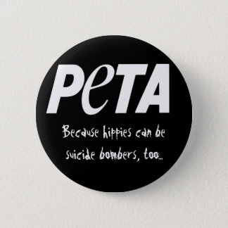 People Eating Tasty Animals 2 Inch Round Button
