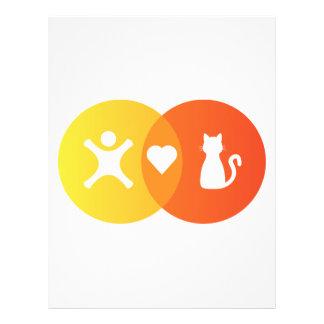 People Heart Cats Venn diagram Letterhead