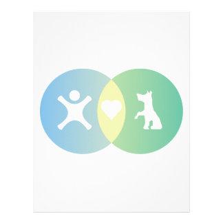 People Heart Dogs Venn diagram Letterhead