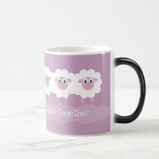 People in recovery flock together morphing mug
