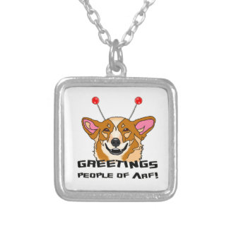People_of_Arf Silver Plated Necklace
