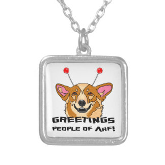 People of Arf Silver Plated Necklace