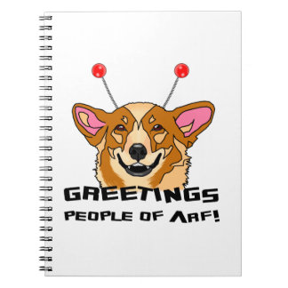 People of Arf Spiral Notebook