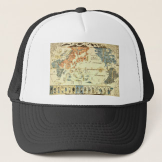 People of Many Nations Ukiyo-e Trucker Hat