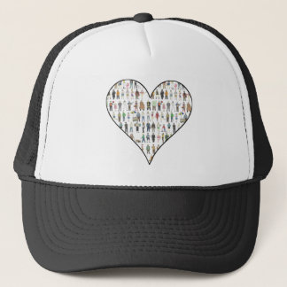 People of NYC New York City Heart People Hat