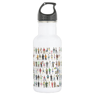 People of NYC New Yorkers City Pride Water Bottle