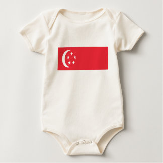 People of Singapore.png Baby Bodysuit