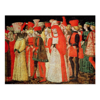 People of the Court of the Sforza Family Postcard