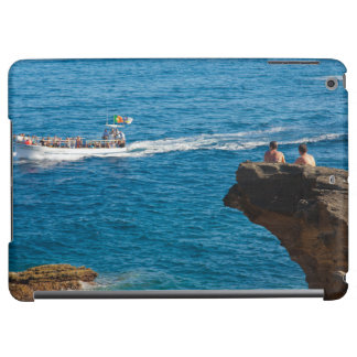 People on an islet cover for iPad air