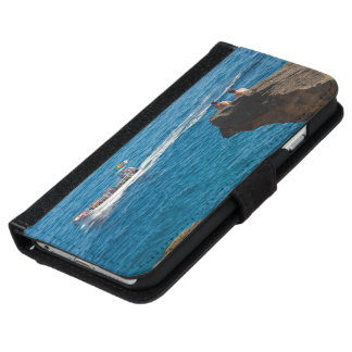People on an islet iPhone 6 wallet case
