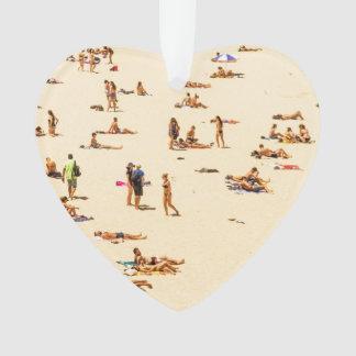 People On Beach Sandy