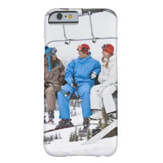 People on Ski Lift, Whistler-Blackcomb, British Barely There iPhone 6 Case