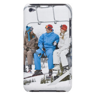 People on Ski Lift, Whistler-Blackcomb, British Barely There iPod Case