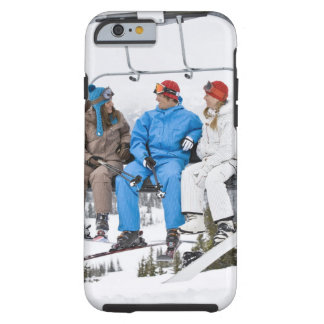 People on Ski Lift, Whistler-Blackcomb, British Tough iPhone 6 Case