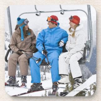 People on Ski Lift, Whistler-Blackcomb, British Coasters