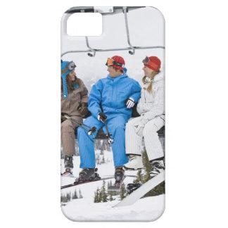 People on Ski Lift, Whistler-Blackcomb, British iPhone 5 Cases