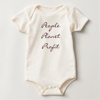 People, Planet, Profit! Baby Bodysuit