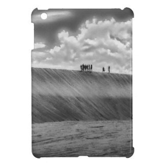 People Walking at Dune Jericoacoara Brazil Cover For The iPad Mini