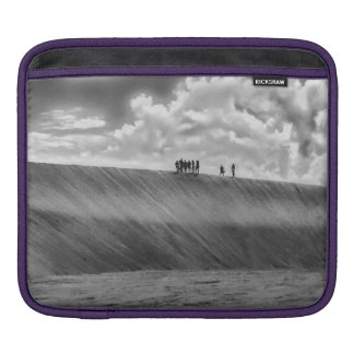 People Walking at Dune Jericoacoara Brazil iPad Sleeve