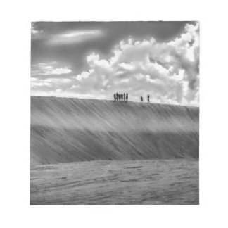 People Walking at Dune Jericoacoara Brazil Notepad