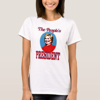 People's President  t-shirt