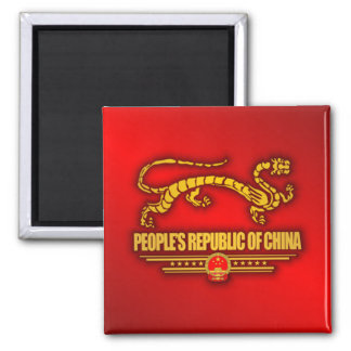 People's Republic of China (Dragon) Magnet