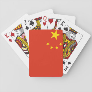 People's Republic of China National World Flag Playing Cards
