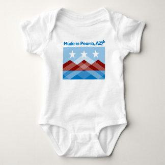 Peoria Flag Baby Bodysuit