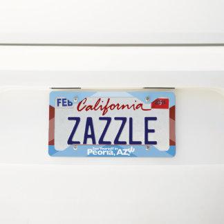 Peoria License Plate Frame