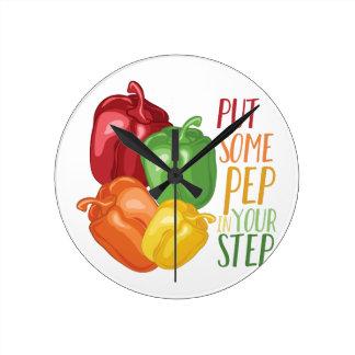 Pep In Step Clock