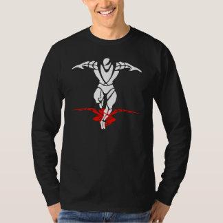 PEPAGEAR - StrongMan T LSleeve - Black T-Shirt