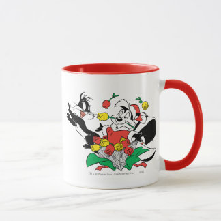Pepe and Penelope Christmas Gift Mug