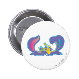 Pepe Le Pew In Love Pins