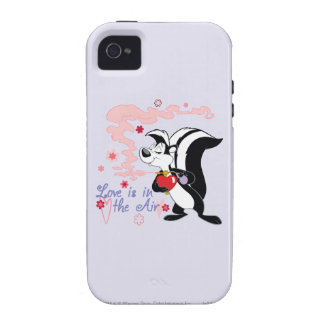 Pepe Le Pew Love is in the Air iPhone 4 Cover