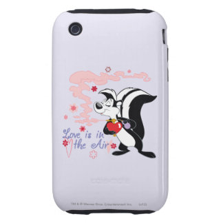 Pepe Le Pew Love is in the Air Tough iPhone 3 Cases