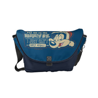 PEPÉ LE PEW™- Put Me On The Naughty List Courier Bag