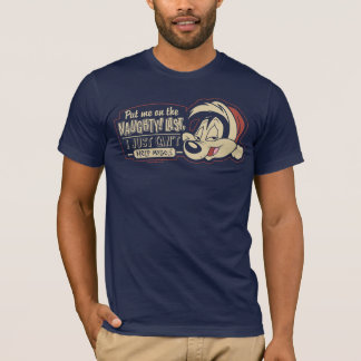 PEPÉ LE PEW™- Put Me On The Naughty List T-Shirt