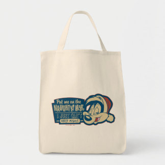 PEPÉ LE PEW™- Put Me On The Naughty List Tote Bag