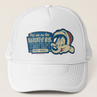 PEPÉ LE PEW™- Put Me On The Naughty List Trucker Hat