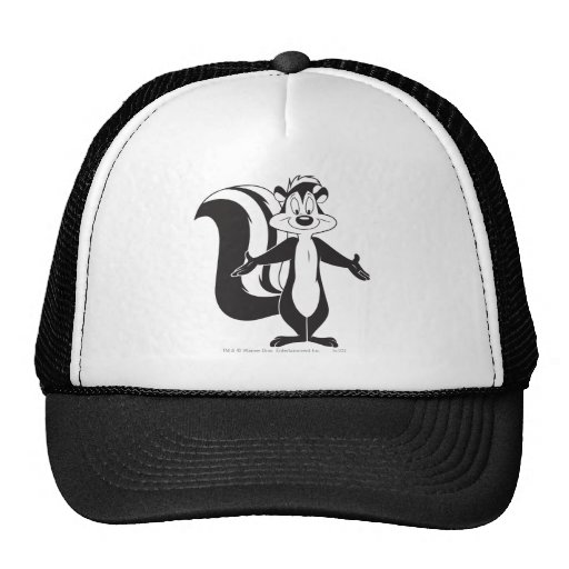 Pepe Le Pew Standing Tall Mesh Hat